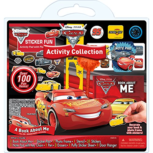 Bendon Cars 3 100-Piece Activity Set (AS53725)