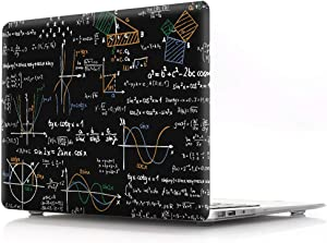 "HRH Math Function Design Laptop Body Shell PC Protective Hard Case for MacBook New Pro 15"" with Touch Bar A1707 A1990(2018 2017 2016 Release)"