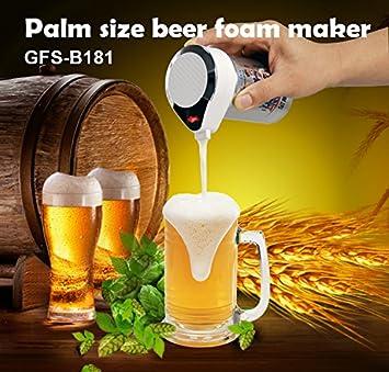 Trendets - Máquina para hacer cerveza, dispensador y espuma portátil - vibración ultrasónica eléctrica: Amazon.es: Hogar