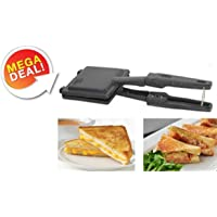 Shivay Special Non-Electric, Non-Stick Coating Snack and Sandwich Maker Gas Toaster