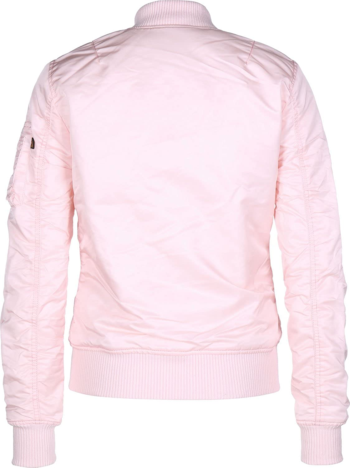 ALPHA INDUSTRIES Women's Bomber Jacket Rose Clair