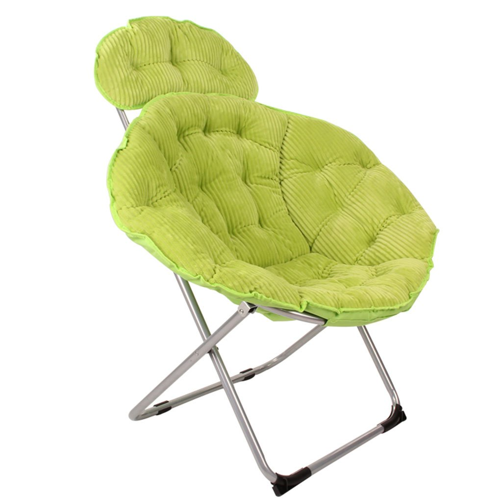 ERRUダイニングチェア 折り畳み怠惰なソファーサンラウンジ/ポータブルリクライナーレジャーアウトドアガーデンチェア(カラー別売、50×50×96cm) ( 色 : Fruit green ) B078HMG4P3 Fruit green Fruit green