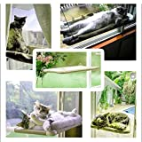 Sunny Seat Pet Bed,Window mounted Cat Bed,Windowsill Pet Bed Pet Hammock Hanging Shelf Seat