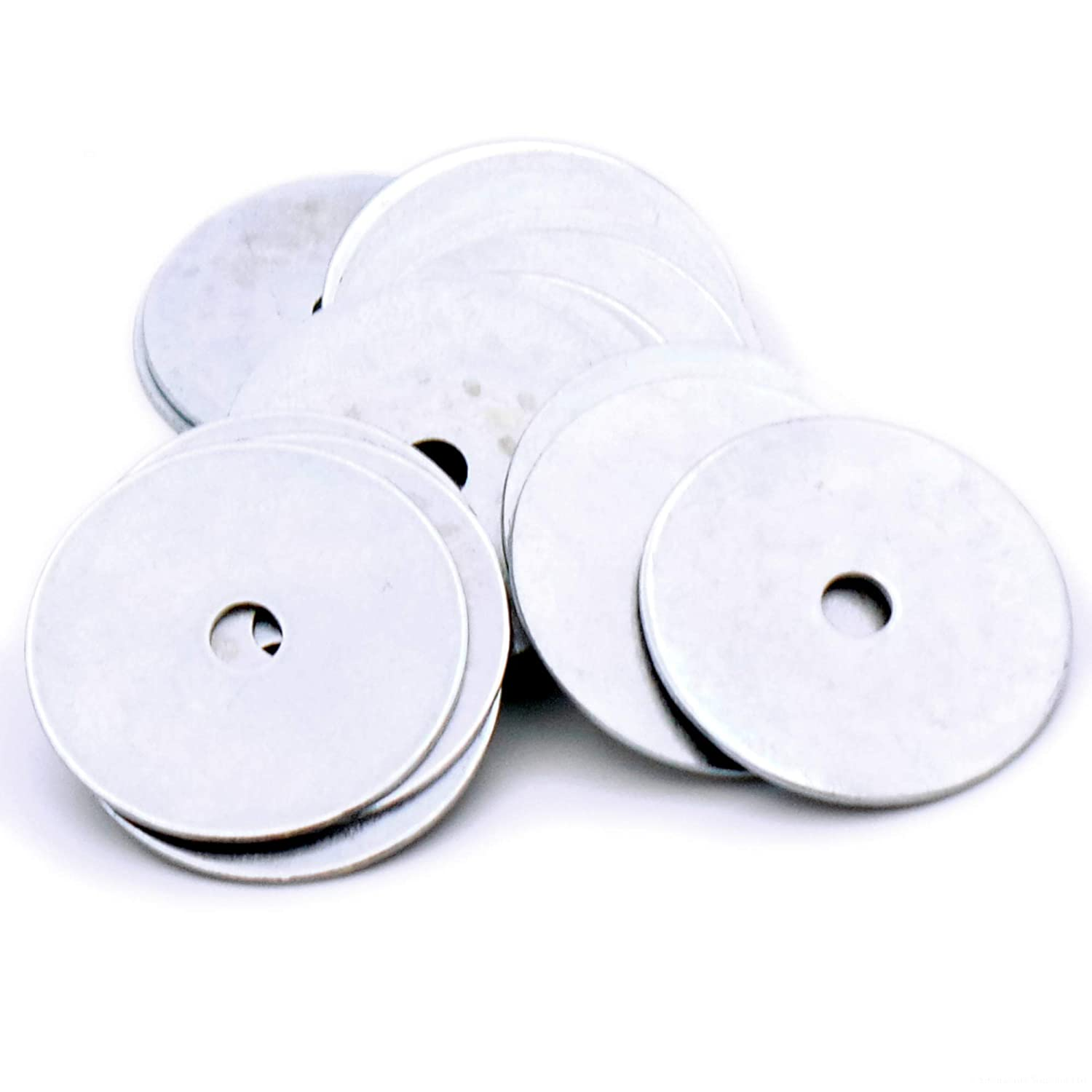 M5 X 30MM STAINLESS STEEL REPAIR WASHER A2 GRADE 304 PENNY MUDGUARD WASHERS
