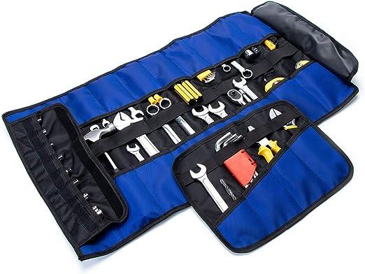 Amazon.com: 2 paquetes de rollo de herramientas, bolsa ...