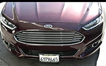 Ford Fusion License Plate Vanity Auto Tag