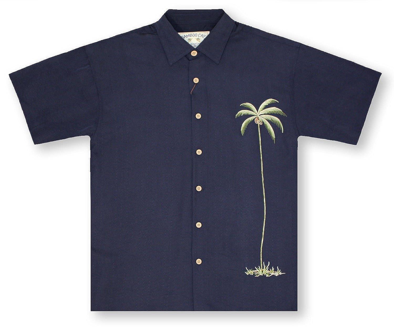 Navy Bamboo Cay Solo Palm