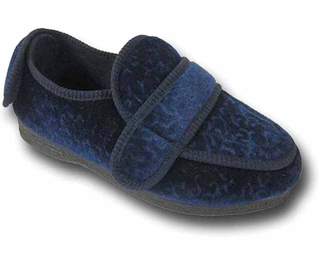 55831d3562d Coolers Womens BW27A Velcro Straps Wide Fit Orthopaedic Slippers   Amazon.co.uk  Shoes   Bags