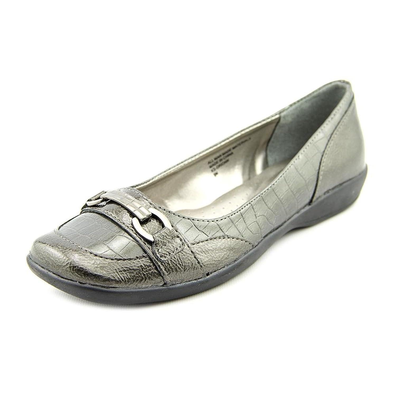 Karen Scott Orionn Women Square Toe Synthetic Bronze Loafer
