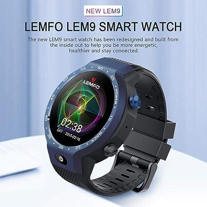 Amazon.com: MOGOI LEMFO LEM9 Dual Systems Smartwatch, 4G ...