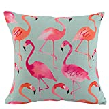Best Home Decors For Sofa Cars - JES&MEDIS Pink Watercolor Flamingo Home Decor Sofa Car Review