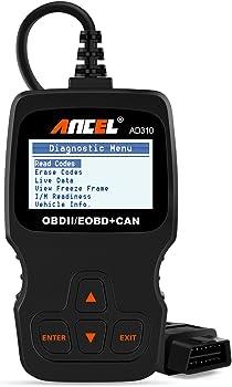 Ancel AD310 OBD II Scanner Car Engine Fault Code Reader