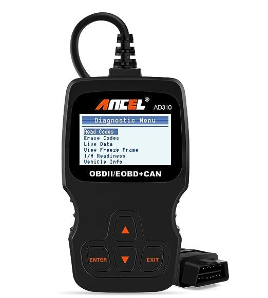amazon com ancel ad310 classic enhanced universal obd ii scanner