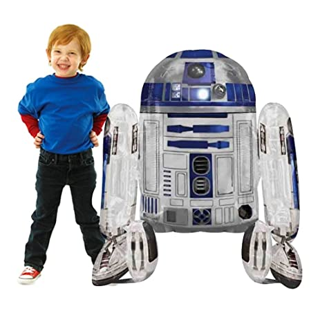 Globo Tamaño Gigante, Diseño de R2-D2, Star Wars *11792 96 ...