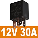 Ehdis 4 Pin 12VDC 30A SPST Multi-Purpose Relay