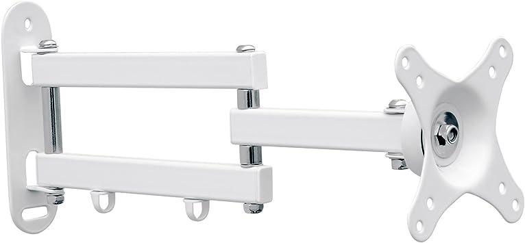 Soporte de montaje de pared para TV para todos los LED LCD plasma de hasta 76 cm (30 pulgadas) con VESA 75x75: Amazon.es: Electrónica