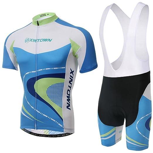 88 opinioni per Skysper- [un Set]Moda Maglia Ciclismo Jerseys Per Uomo: Corta Manica Tuta Estivo
