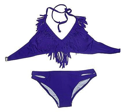 Dark purple bikini