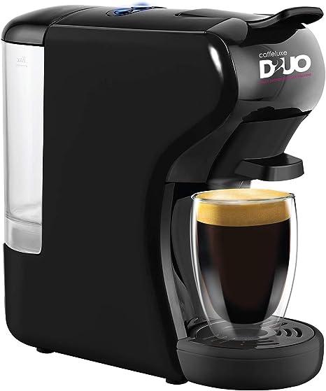 Caffeluxe Duo - Máquina compatible con cápsulas Nespresso y Dolce ...
