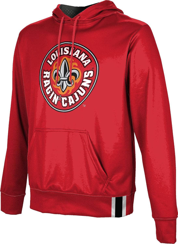 School Spirit Sweatshirt Solid ProSphere University of Louisiana at Lafayette Mens Pullover Hoodie