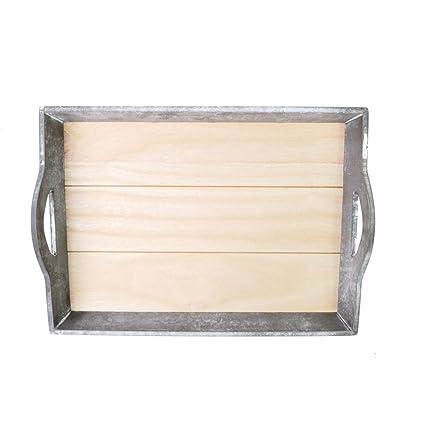 Bandeja de madera 43 x 30 cm Estilo Rústico | Vintage | Cocina Bandeja