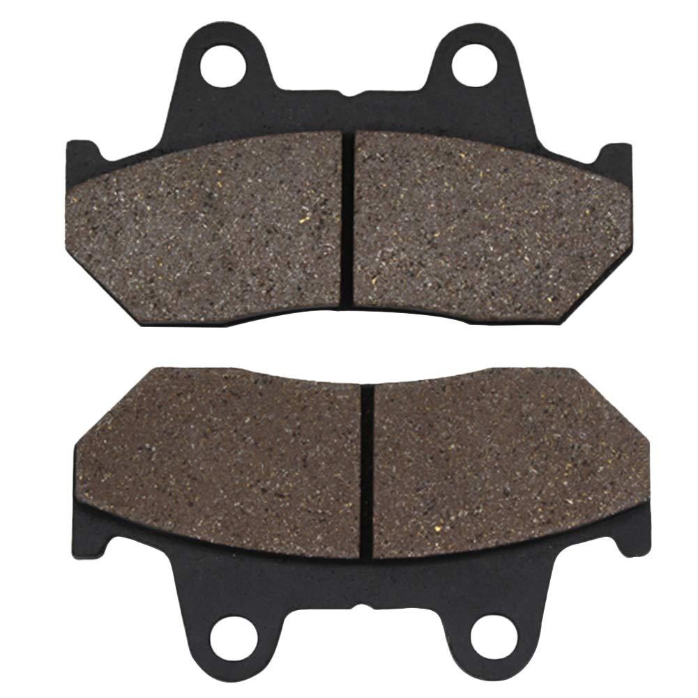 Cyleto Front and Rear Brake Pads for HONDA VF1000F Interceptor 1000 1984 VF1100S V65 Sabre 1100 1984 1985 VF1100C V65 Magna 1100 1983-1986