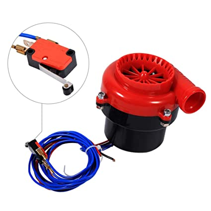 Amazon.com: Universal Fake Turbo Electronic Dump Blow Off Valve BOV Sound Simulator Switch: Car Electronics