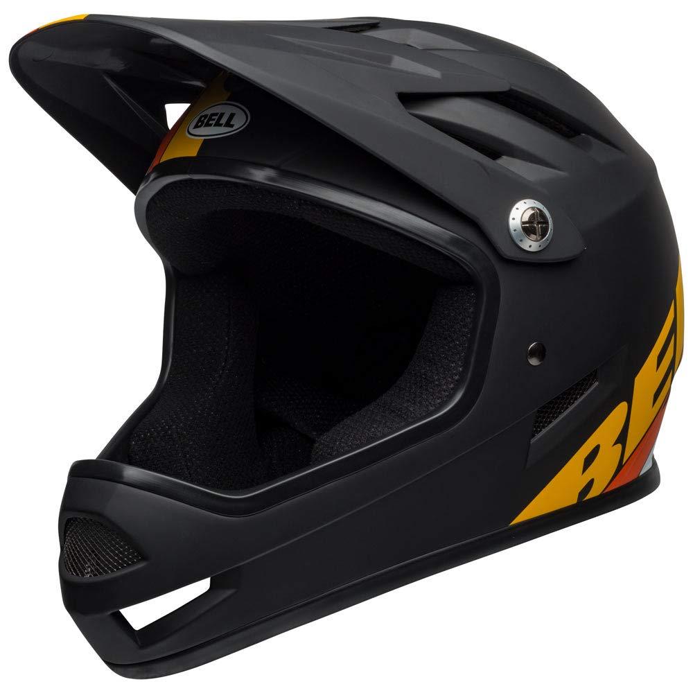Bell Sanction Bike Helmet - Aglility Matte Black/Yellow/Orange X-Small