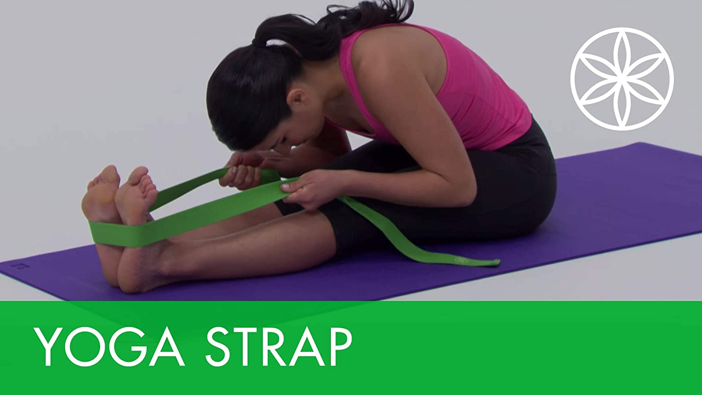 maimai Durable Fitness Yoga Rope Stretch Band Dance Gymnastic Exercise Strap,Yoga Ligament Stretching Belt,Ballet Stretch Band Yoga Band Foot Loop Dance Gymnastics,Rehabilitation Training Belt