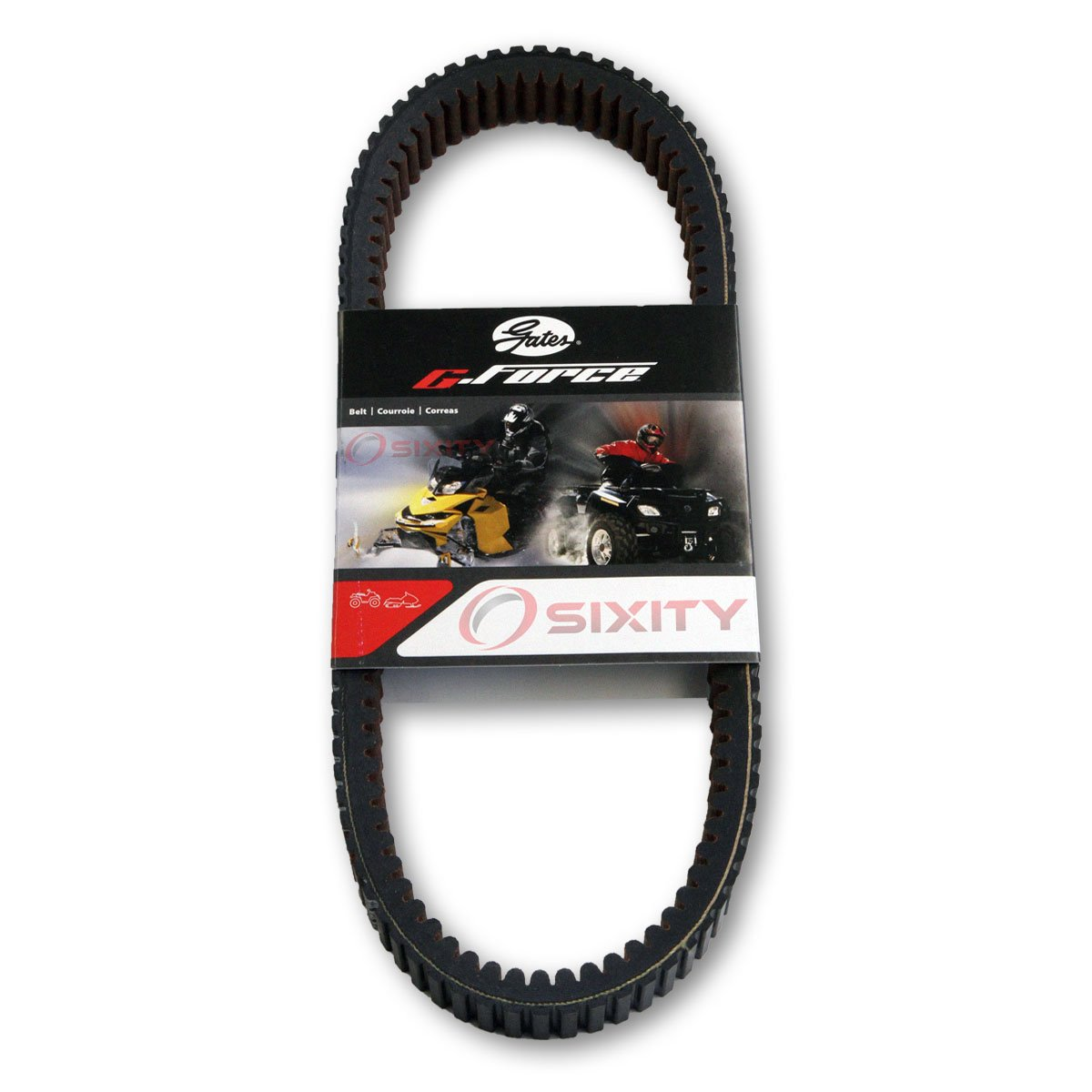 Gates Drive Belt 2015-2016 for Can-Am Maverick Max 1000R X ds G-force CVT Heavy Duty OEM Upgrade