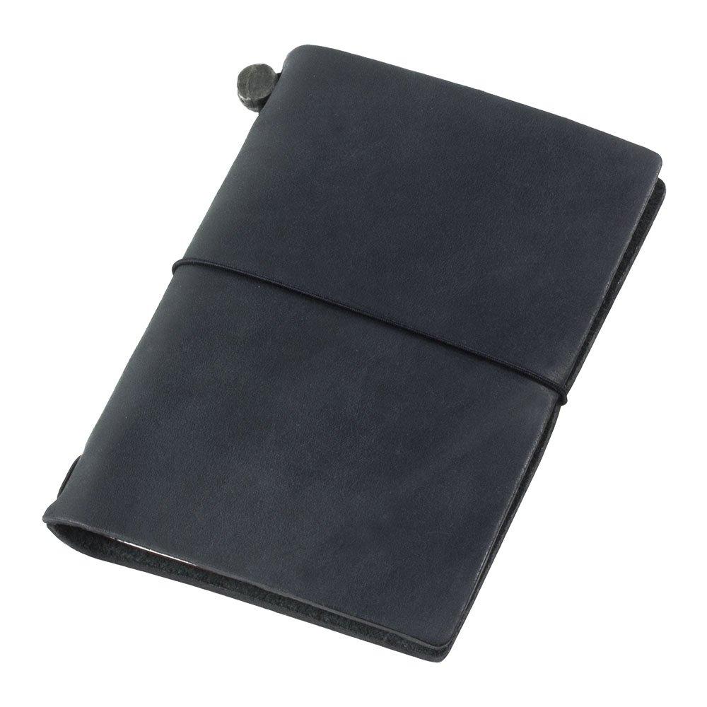 Midori Traveler's Notebook Journal Passport Size - Black by Midori Way