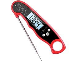 AMIR Termômetro de Cozinha Digital à prova d'água com Sonda Longa, Termômetro de Carne para Churrasco, Alimentos, Turquia, Ca
