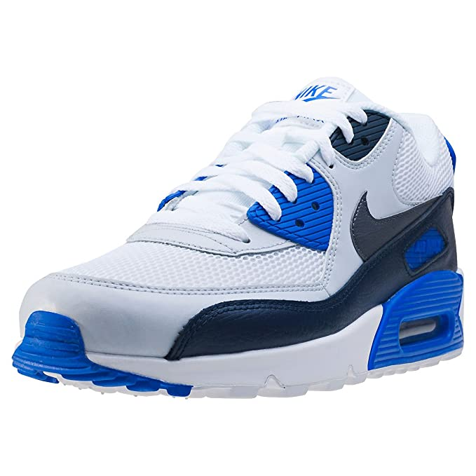 Nike Air Max 90 Essential Schuhe obsidian-metalllic dark grey-pure platinum - 40