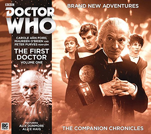 The First Doctor Companion Chronicles Box Set (Doctor - Tom Peter Ford
