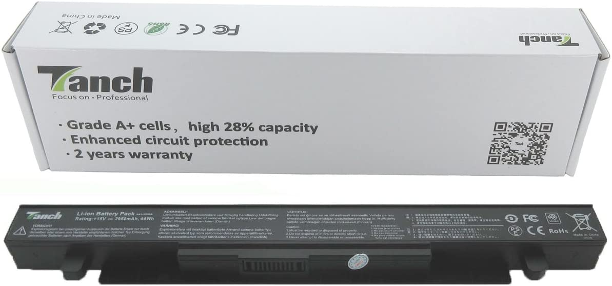 A41-X550A A41-X550 Batería para Ordenador ASUS X550 X550C X550CA X550CC X550CL X550E X550L X550LN X550V 15V 2950mAh: Amazon.es: Electrónica
