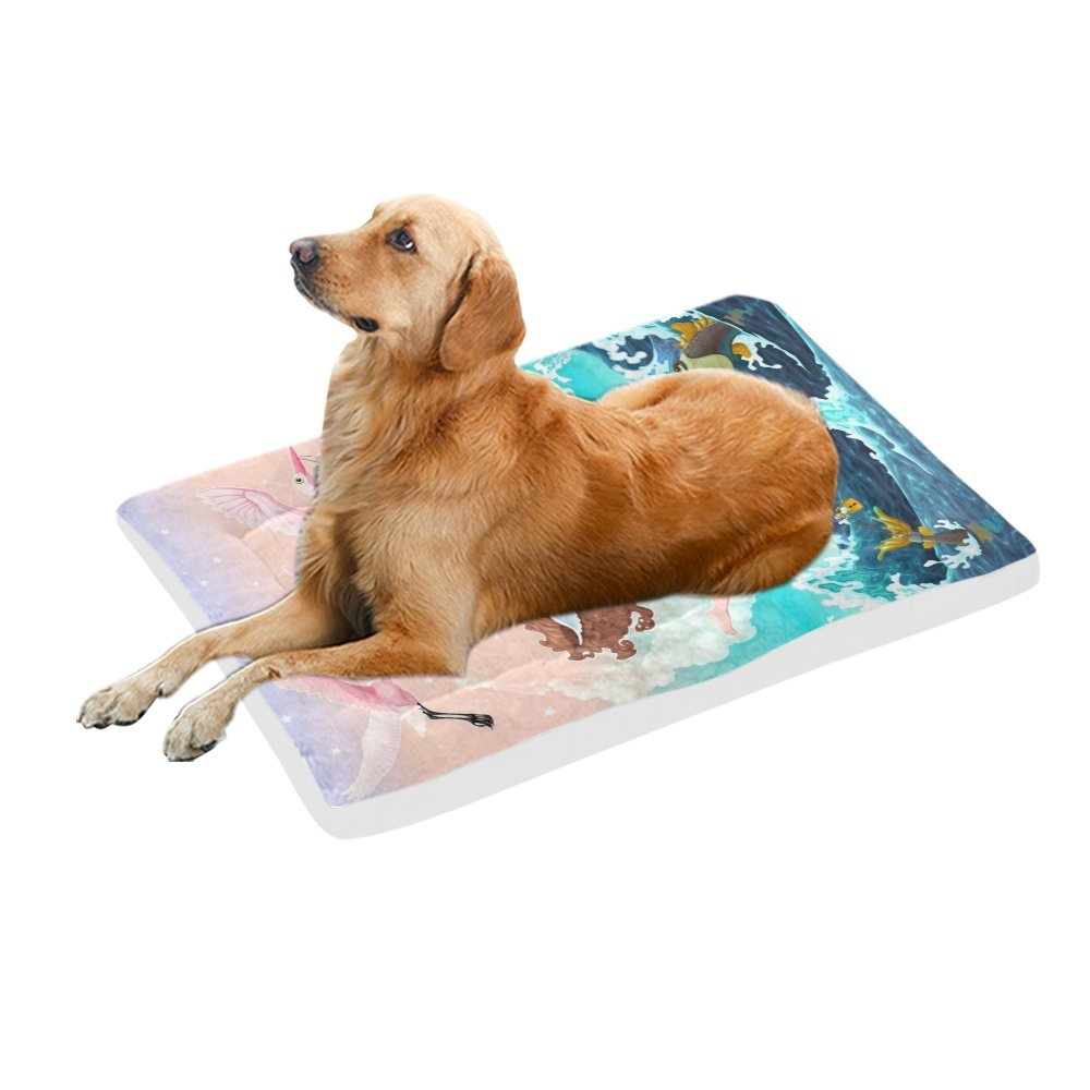 42\ your-fantasia Between Past and Future Pet Bed Dog Bed Pet Pad 42 x 26 inches