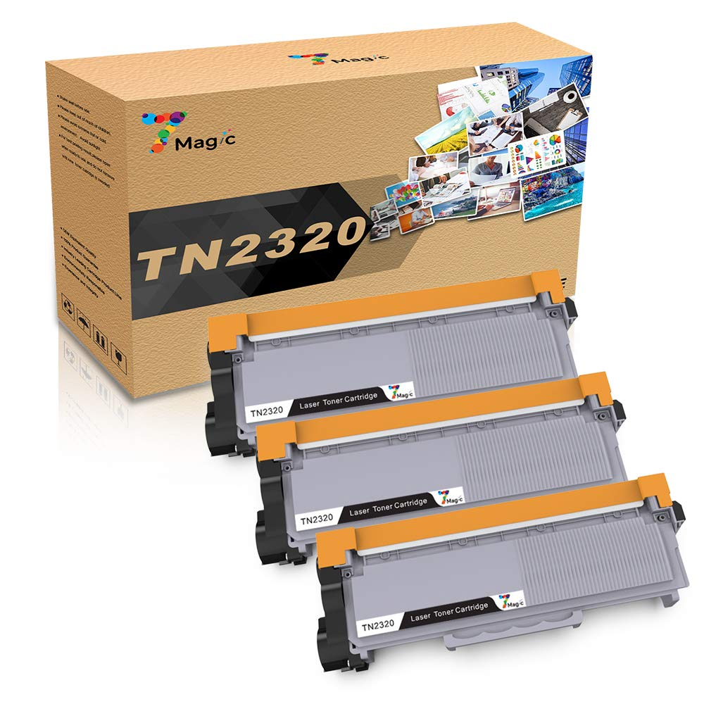 Compatibile TN2320 Toner, 7Magic TN-2320 per Brother MFC-L2700DW MFC-L2740DW MFC-L2720DW HL-L2300D HL-L2340DW DCP-L2500D Stampante
