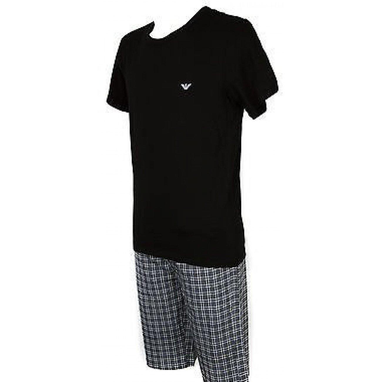Short algodon pijamas para hombre EMPORIO ARMANI a. 111019 4A567 t.m Col. 00020: Amazon.es: Zapatos y complementos