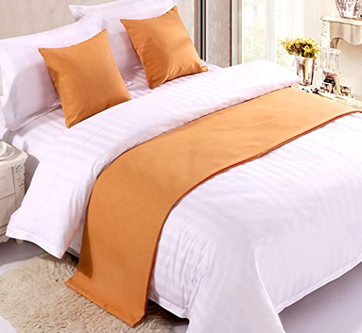 Hotel Home Bed Runner Scarf for Foot of Bed Decorative Protector Slipcover pick