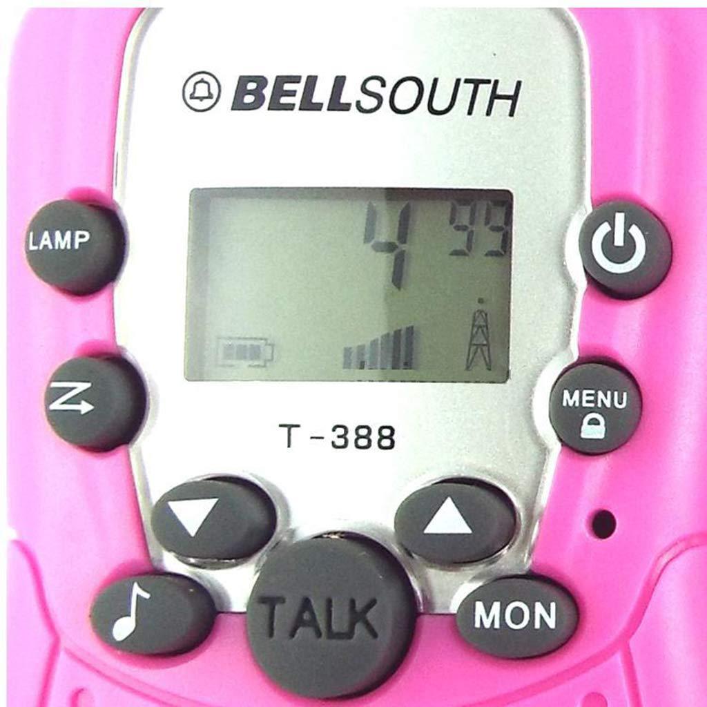Banbu Kids Walkie Talkies 22 Channel FRS Toy for Kids Uhf FRS 2 Way Radio Toy, 2Packs,Black by Banbu (Image #2)