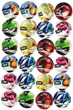ONE FLAVOR WAVES ASSORTED FLAVORED CONDOMS 24 PACK