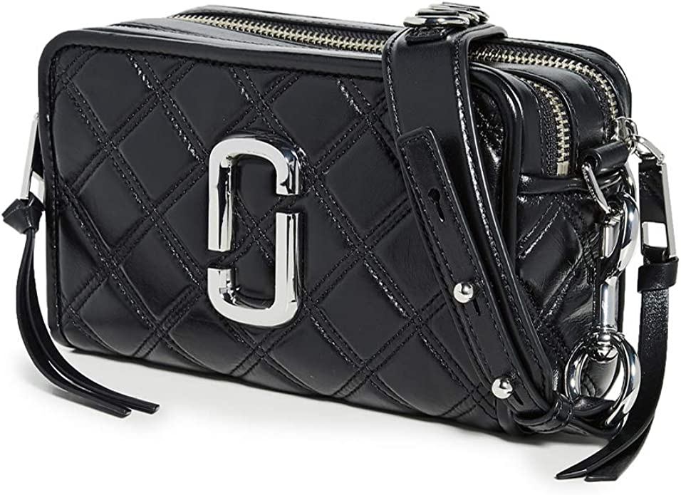 Marc Jacobs The Quilted Softshot 21 - Noir: Marc Jacobs: Amazon.fr ...