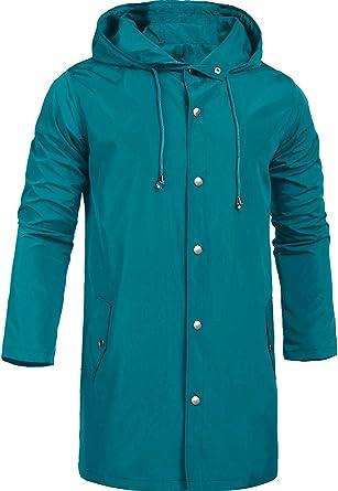 Men/'s Windbreaker Rain Jacket Collar with Hood Men/'s Jacket Windbreaker S-XXXL