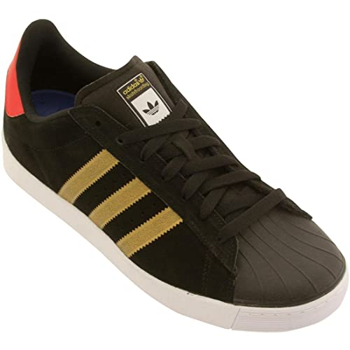 adidas superstar nero oro