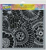 The Crafter's Workshop TCW780 12'' x 12'' Botanical Dream Template, Multicolor
