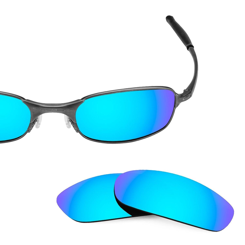 Revant Lentes polarizados para Oakley Square Wire 2.0 (Azul Hielo ...
