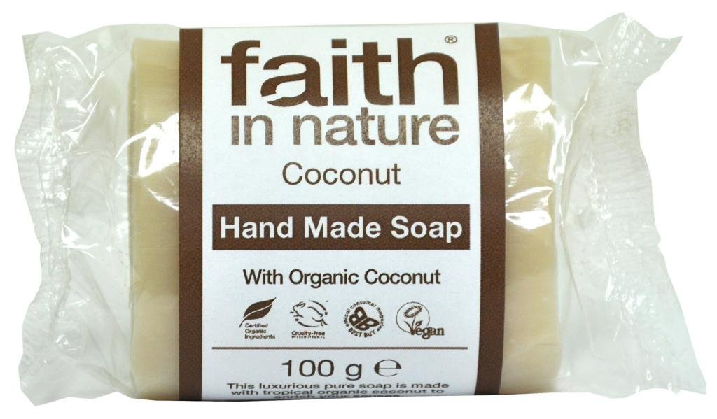 (Pack Of 6) Coconut Soap (Wrapped) | FAITH IN NATURE