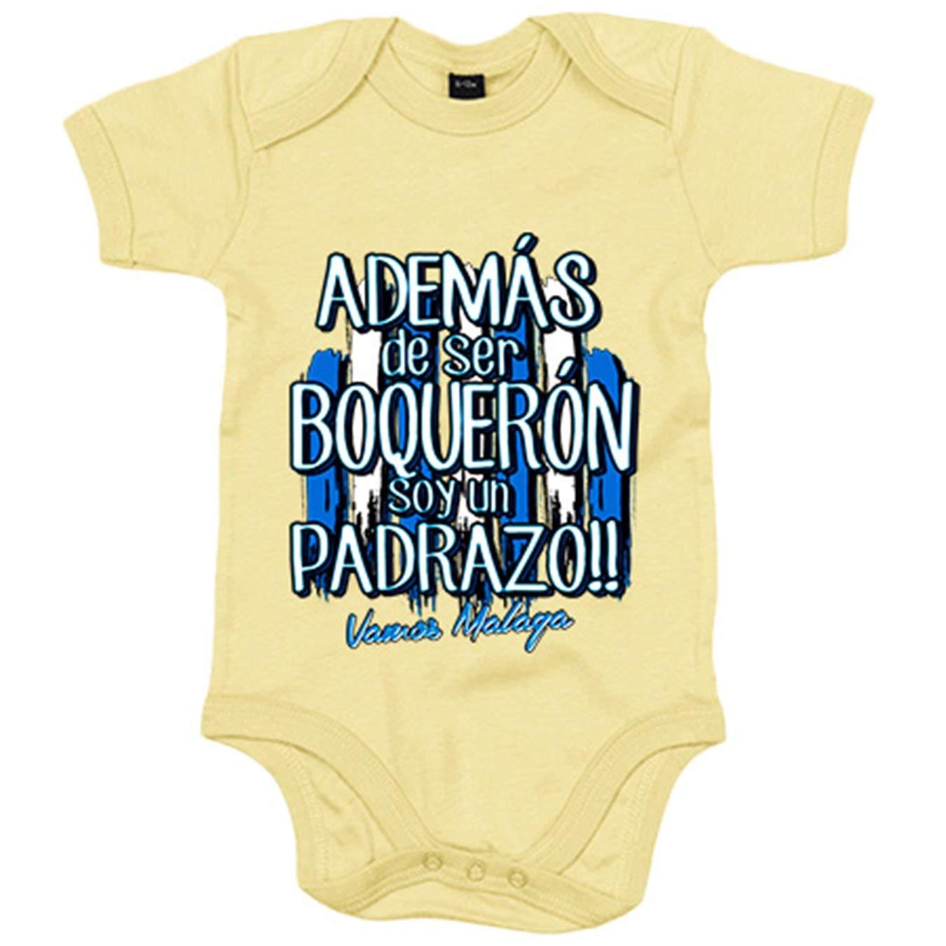 Body bebé además de ser Boquerón soy un padrazo Málaga fútbol ...