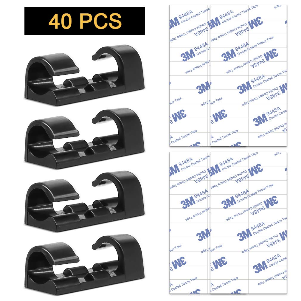 3M Adhesive Car Cable Clips//Drop Wire Holder Selling Just Over Cost New 25 Pcs