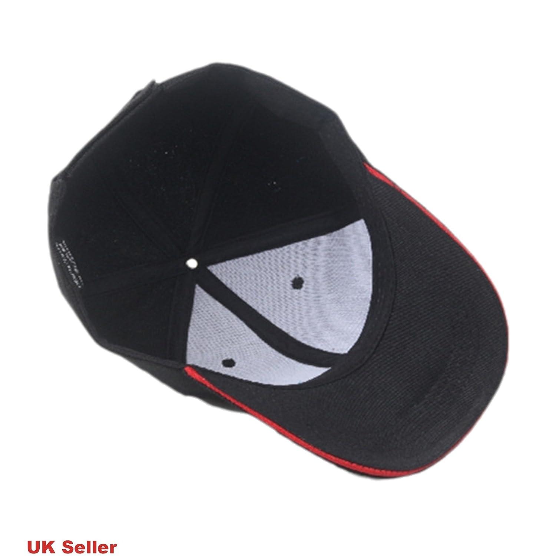 b/éisbol Motores de BMW Gorra Deportiva my-gagdet-shop Sombrero de algod/ón Negro con Logotipo de M para Coche